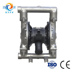 """Air Operated 2"""" High Temperature Stainless Steel 304/316 Diaphragm Pneumatic Waste Sludge Oil Pump"""