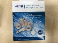 Heavy Weight Drill Cotton Elastic Adhesive Bandage (EAB)