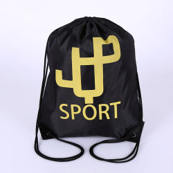 Eco-Friendly Waterproof Sport Drawstring Packaging Bag