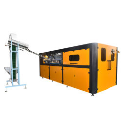 4cavity Pet Plastic Drink Water Sport Beverage Bottle Blow/Blowing Molding/Moulding Machine with ISO Identification
