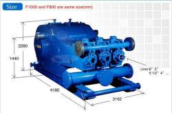 API Spec 7k Specification Standard Three Cylinder Single Acting F500 Mud Pump