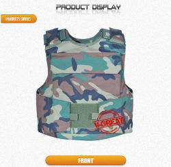 Tactical Bulletproof Vest (V-tac002) Twaron Nij 0101.06 Certified