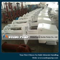 Industry Submersible Slurry Pump with Agitator