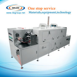 Three Temperature Area Lithium Ion Battery Laboratory Battery Continuous Coating Machine (SLT-C-180)