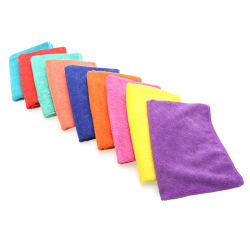Custom Print Microfiber Table Kitchen Car Cleaning Rag