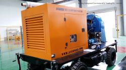 300m3/H Movable Self-Priming Diesel Engine Water Pump with Four Wheels
