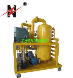 High Efficient Double Vacuum Stage Insulating Oil Purification System