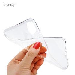 Ultra Slim Lightweight Jelly Transparent Soft Gel TPU Cellphone Back Case Cover Skin for Apple Iphonex