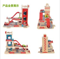 Wooden Parking Lot Toy