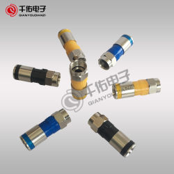 Coaxial Cable F Male RF Connector