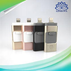 3 in 1 8g 16g 32g 64G OTG USB Flash Drive USB3.0 USB Drive USB Memory Stick for iPhone Ios PC Android