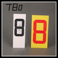Plastic Adjustable Price Tag/Price Number Advertising (T80)