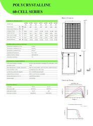 Top 1 A Grade 60cells Polycrystalline 265W (5BB) Grosun Solar Panel