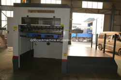 Flatbed Thin Paper Die Cutting Machine with Die-Cutting and Creasing Machine