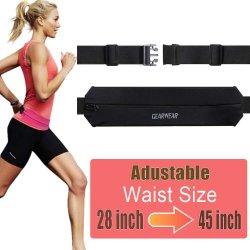 Running Belt for iPhone Money Wallet Walking Jogging Exercise Sport Run Waistband