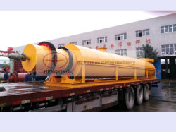 Hengxing Brand Industrial Rotary Dryer for Drying Minerals, Construction Material
