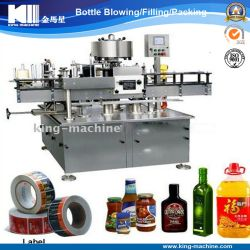 Bottle Self-Adhesive Sticker / Bottle Labeling Machine