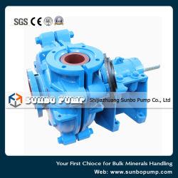 Coal Crushing Plate Washing Water Feeding Centrifugal Slurry Pump