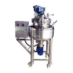 Sanitary Stainless Steel Slurry Agitator Tank Single Impeller Mixer