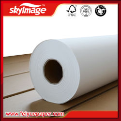 New Generation 90GSM 50inch (1270mm) Wholesale Roll Sublimation Transfer Paper for Digital Transfer Printing