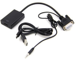 VGA to HDMI Cable up to 1080P