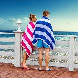 Custom Sublimation Print Microfiber Sand Proof Waffle Towel Beach Towel Polyester Polyamide