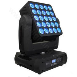 DMX Stage DJ Disco Moving Head Beam LED Matrix 25X30W