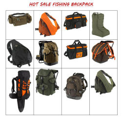 Orange Hangbag Hunting Fishing Carrying Bag Sh-16101304