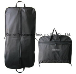 Whole Promotional Ng Bag Custom Printed Black Peva And Non Woven Fabric Cloth Cover Packaging
