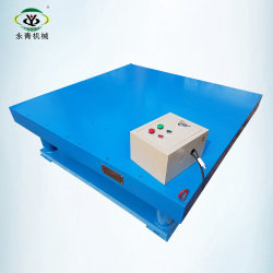 Here against Cocrete table vibrator agree with
