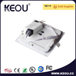 Ce RoHS Approved Saqure Recessed LED Panel Light