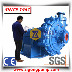 Horizontal Chemical Heavy Duty Wear Resistant Slurry Centrifugal Pump