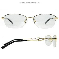 5378b400c Latest Model Custom Wholesale Fashion Diamond Eyeglasses Vogue Women Metal Glasses  Optical Frame
