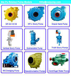2/1.5 B-Ah Metal Liner Lime Slurry Pump and Spare Parts