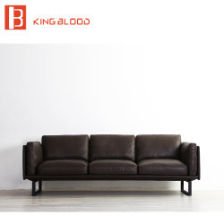 New Model Italy Leather Sofa Set Designs for Living Room with Pictures