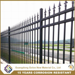 Professional Wrought Iron Aluminum Permanent Garden Fence Panel