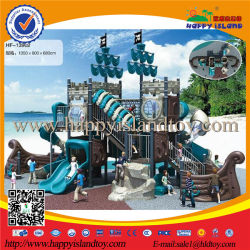 Plastic or Wooden Pirate Ship Outdoor Kids Playground Equipment