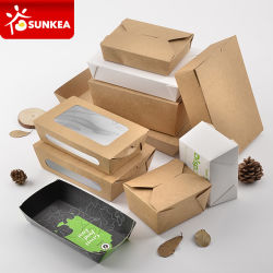 Custom Brand Printed Disposable Paper Fast Food Packaging