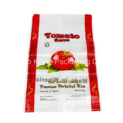Factory Wholesale Plastic Packaging PP Woven Bags for Millet, Rice, Food, Fertilizer, Seed, Feed
