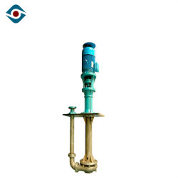 Electric Acidic Slurry Delivery Pump Centrifugal High Temperature Vertical Pump