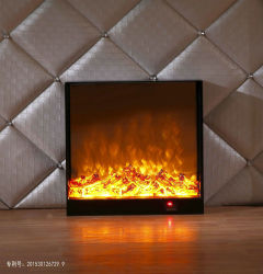 MDF Electric Fireplace Home Furniture LED Lights Core (T-303)