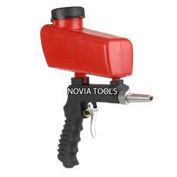 PS-11 Portable Sand Blaster, Media Blasting Nozzle Gun, DIY, Crafts, Glass & Mirror Etching Tool, Gravity Feed Sandblast Gun,