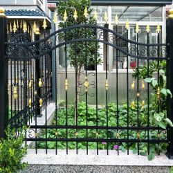 Professional Wrought Iron Garden Fence Panel Distributor