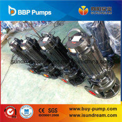 Qw Series Submersible Water Pump for Sewage, Sludge, Slurry