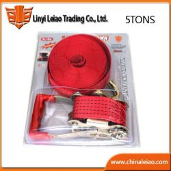 5tons Polyester Cargo Lashing Belts with High Quality
