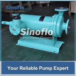 Hermetic High Temperature Chemical Processing Canned Motor Shield Pump