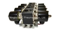 "Air Ride Suspension Valve Vu4 Air Bag Valve Brass 10mm (3/8"") Orifice 200psi 8-Cyl Air-Engine Manifold Block Valve"