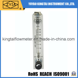 Panel Type Flow Meter with Control Valve Measure for Water
