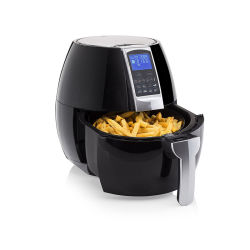 Wholesale 1500W 3.2/2.5L Electric Air Fryer W/Temperature Control, Timer, 8 Cooking Presets 3.7