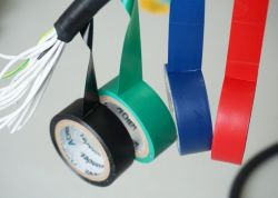 Used for General Wire Wound Flame Retardant Electrical Tape.